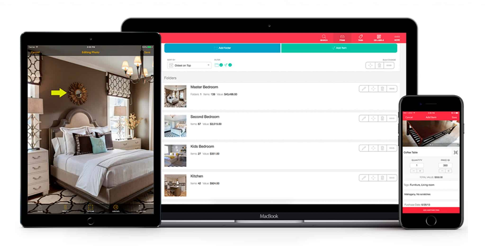 sortly simplest inventory management software for business home